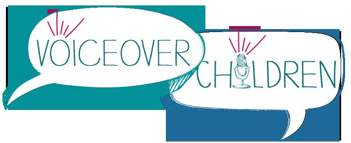 The Logo for Voice Over Children